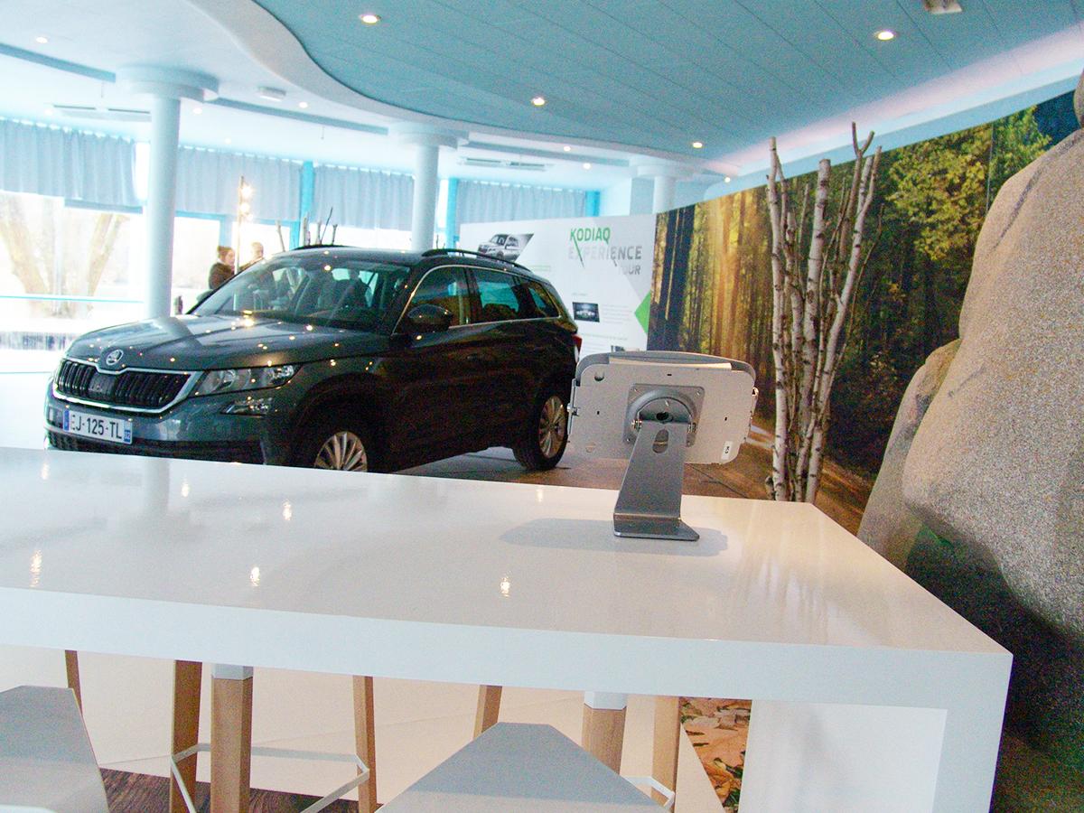 Organisation et espace Showroom automobile